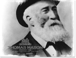 in 1750 Thomas Mason started working